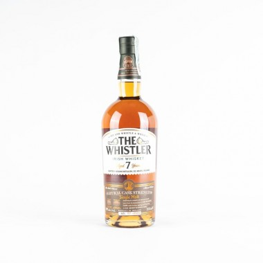 whisky the whistler natural cask strength 7 years
